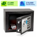 KeyGuard Security KGE Series Compact Electronic & Key Safe