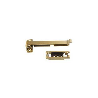 Ingersoll DSC2S Security Door Check (Brass)