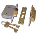 Chubb (Union) 3K74E 5 Lever Sashlock British Standard (Brass)