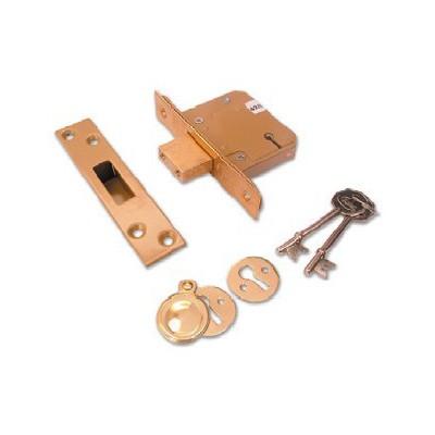 Asec Security Mortice Deadlock - 5 Levers British Standard