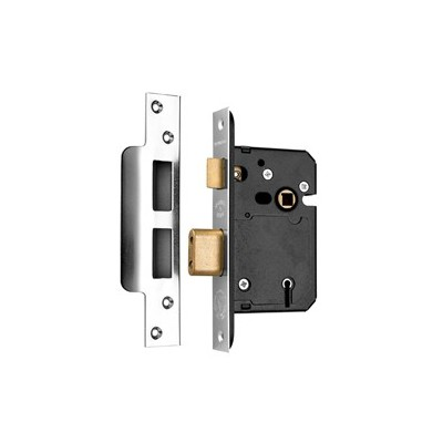 Secure Fast 5 Lever sashlock Deadlock - BS3621 Approved