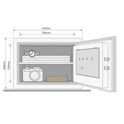 YALE YFM 310 FG2 Fire Cupboard Safe