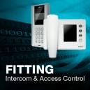 Electronic lock & Intercom - Fitting