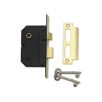 Union Y-2295 2 Lever Sashlock (Polished Brass)