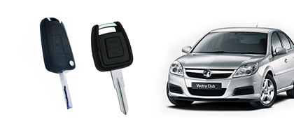 Vauxhall Vectra keys