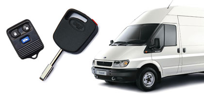 ford transit keys